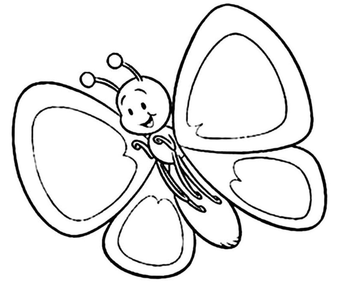 Galeria de fotos e imagens Desenhos para pintar de borboletas